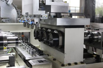 Five 4-spindle gun drilling machines